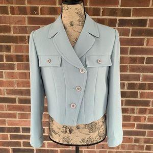 NWOT Talbots cropped blazer jacket